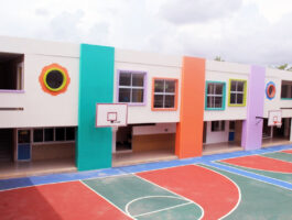 patio preescolar instalaciones cumbres cancún